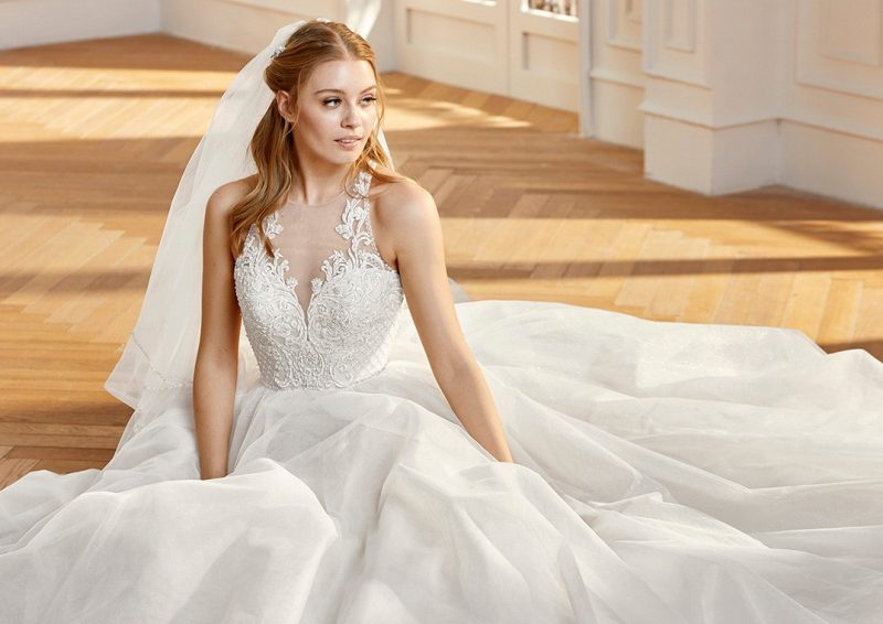 Pronovias St. Patrick Collection.